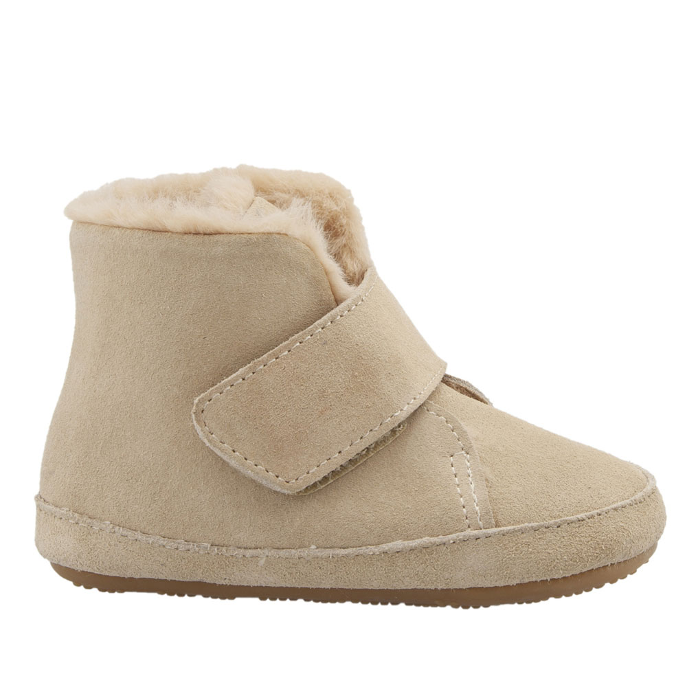 Old Soles Softly - Natural Suede<br><span style='color: rgb(230, 0, 0);'>SALE</span>