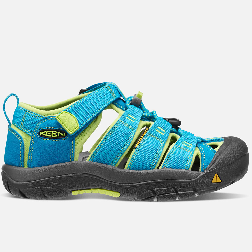 Keen NEWPORT H2 Sandals - Hawaiian Blue/Green Glow EU32/33