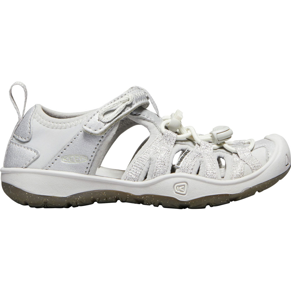 Keen MOXIE Sandal - Silver EU24-EU31<br><span style='color: rgb(230, 0, 0);'>£5 OFF FOR JULY!</span>