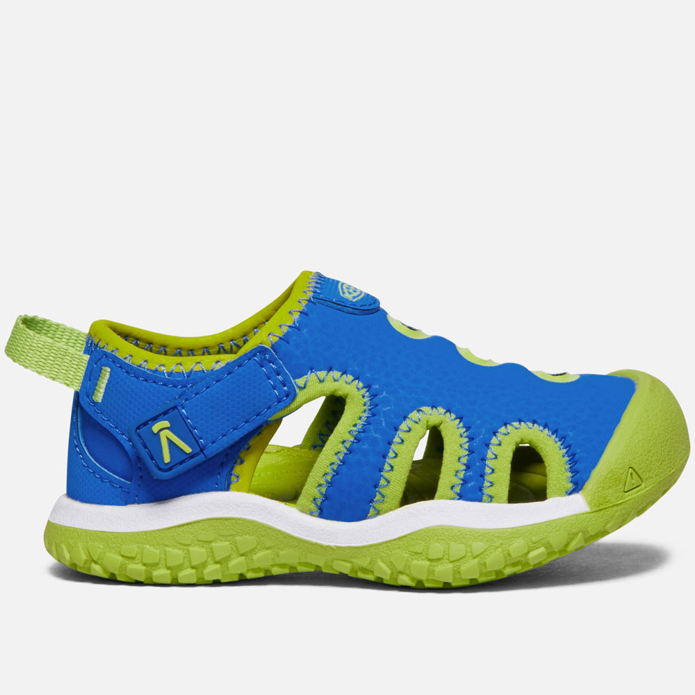 Keen STINGRAY Sandal - Brilliant Blue/Chartreuse EU20-EU23