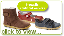 3 - Bobux i-Walk (for confident walkers)
