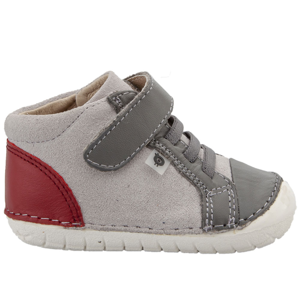 Old Soles High Pave - Grey / Red<br><span style='color: rgb(230, 0, 0);'>SALE</span>