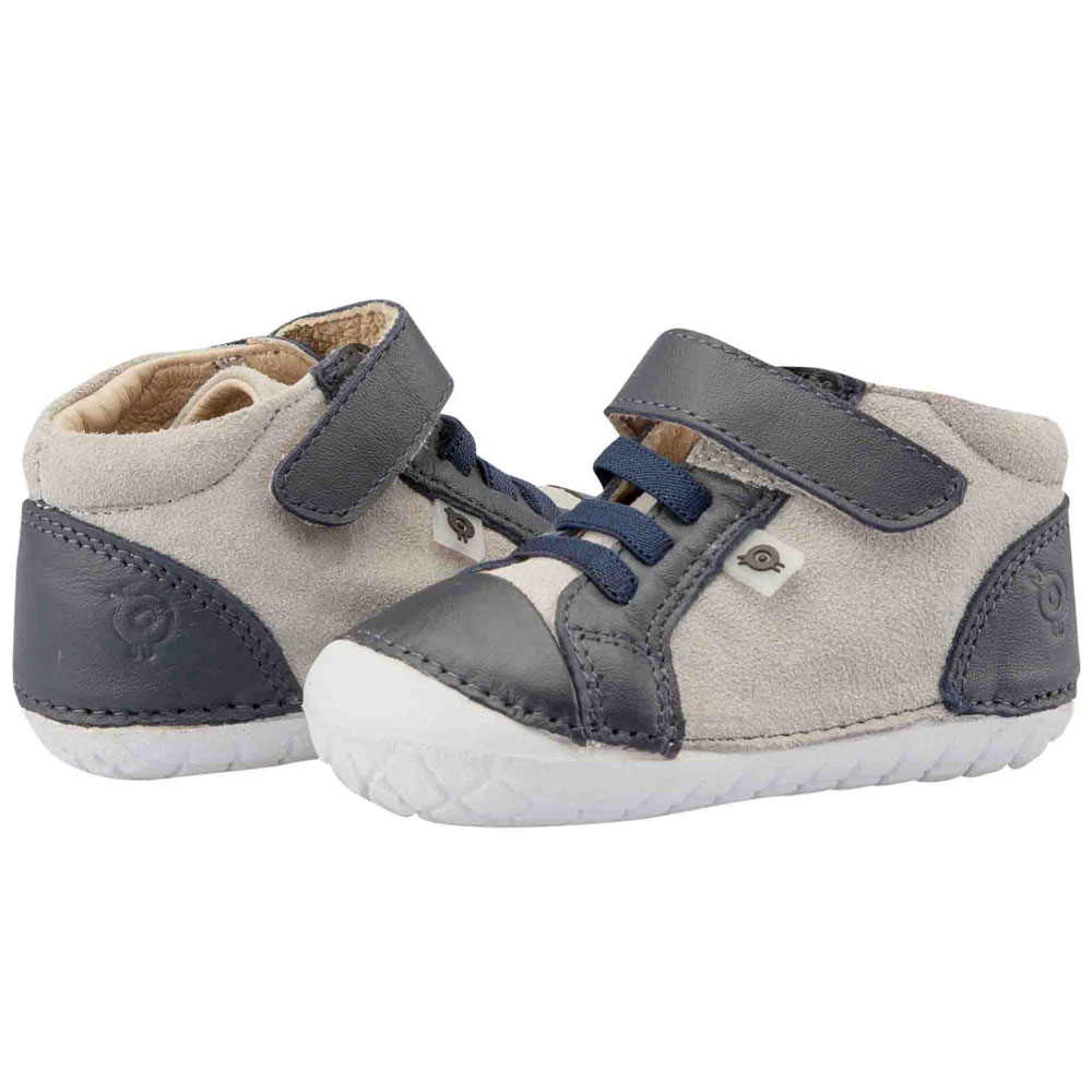 Old Soles High Pave - Grey / Navy<br><span style='color: rgb(230, 0, 0);'>SALE</span>