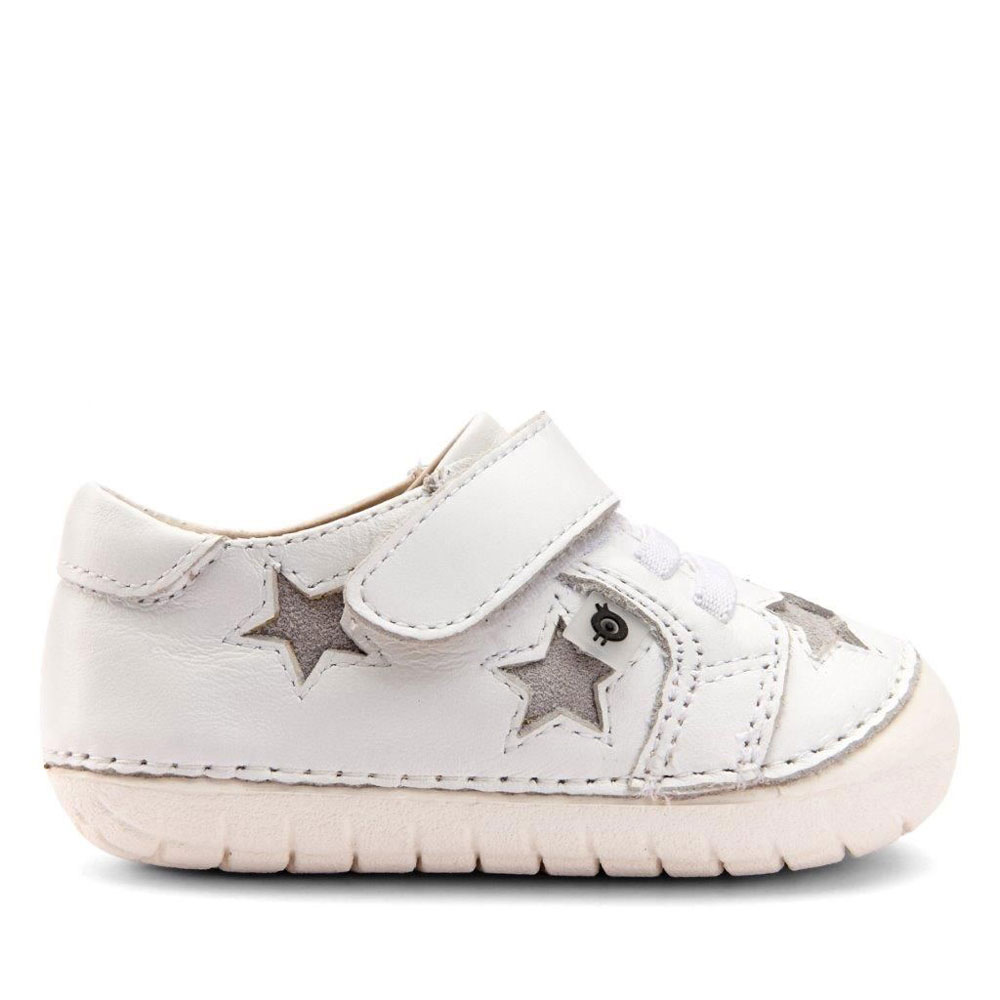 Old Soles Starry Pave - Snow/Grey Suede<br><span style='color: rgb(230, 0, 0);'>SALE!</span>