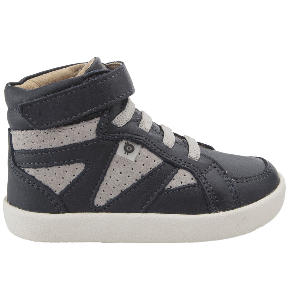 Old Soles New Leader - Navy/Grey Suede<br><span style='color: rgb(230, 0, 0);'>SALE</span>