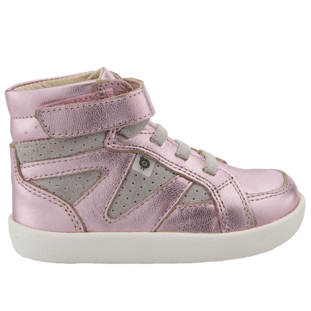 Old Soles New Leader - Pink Frost/Grey Suede<br><span style='color: rgb(230, 0, 0);'>SIZE EU25-EU28</span>