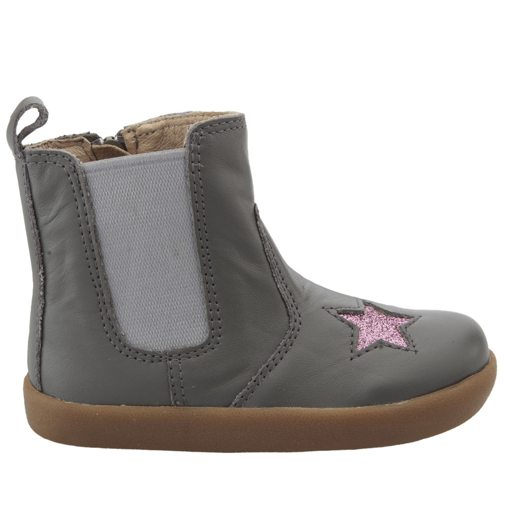 Old Soles Local Star - Grey/Glam Pink<br><span style='color: rgb(230, 0, 0);'>SALE</span>