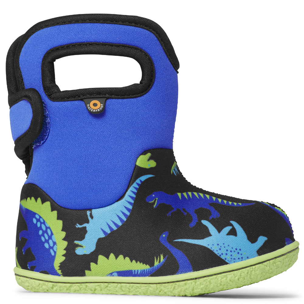 Baby Bogs Dinosaur - Electric Blue