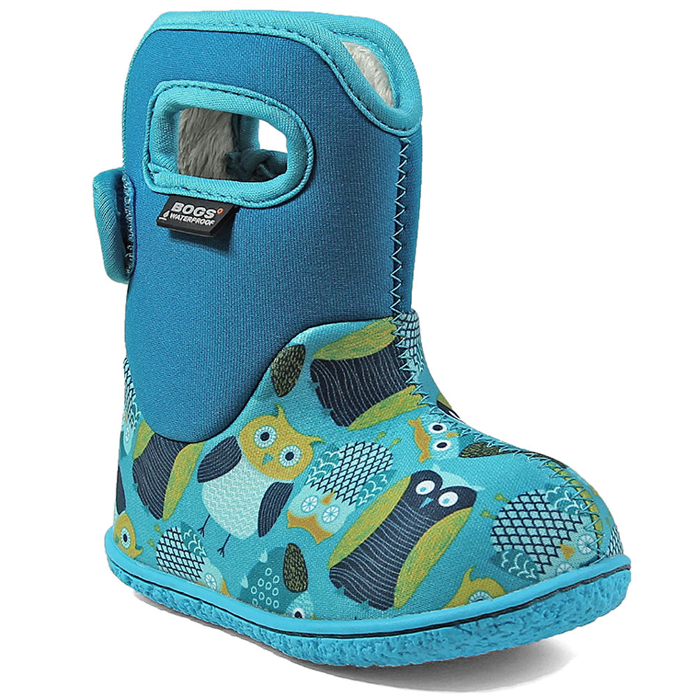 Baby Bogs Owls - Blue<br><span style='color: rgb(230, 0, 0);'>SPECIAL PRICE</span>