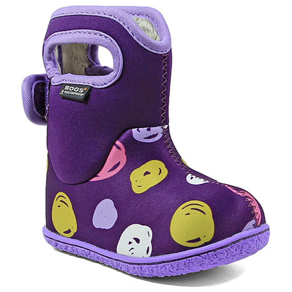 Baby Bogs Sketched Dots - Purple<br><span style='color: rgb(230, 0, 0);'>SPECIAL PRICE</span>