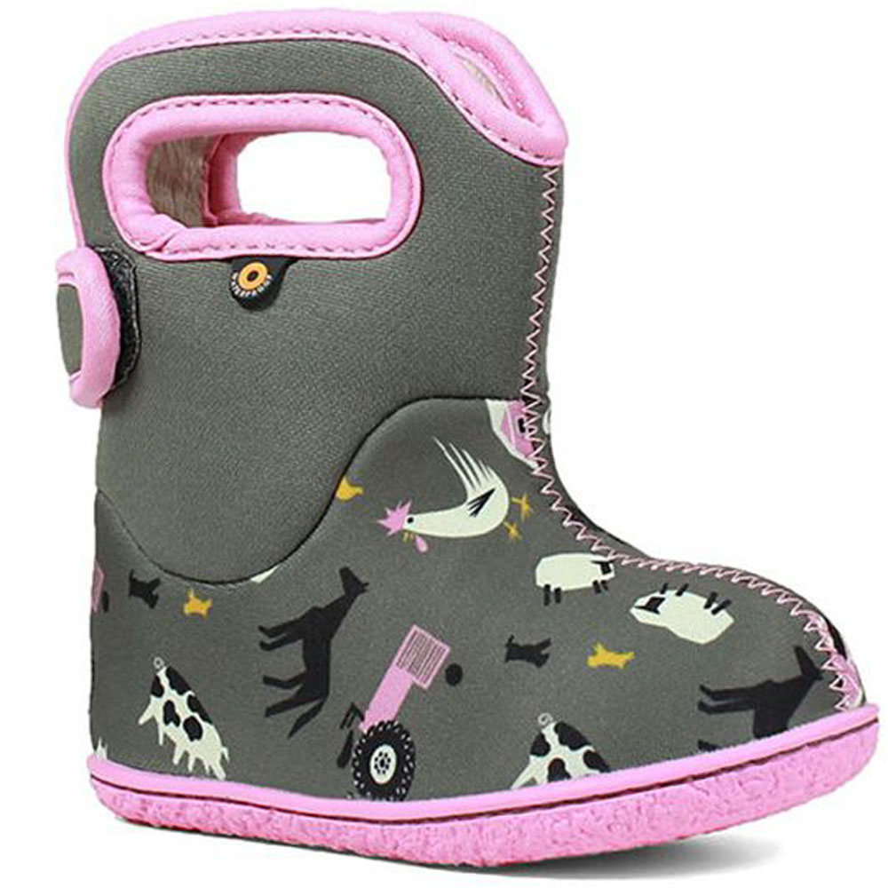 Baby Bogs Farm - Grey<br><span style='color: rgb(230, 0, 0);'>SALE</span>