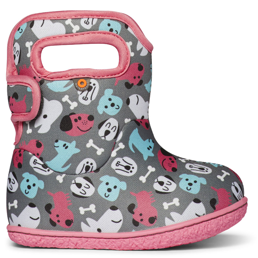 Baby Bogs Puppies - Grey<br><span style='color: rgb(230, 0, 0);'>10% DISCOUNT APPLIED AT CHECKOUT</span>