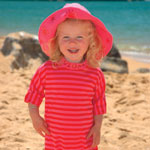 Sposh Sunsuit - Cerise/Red