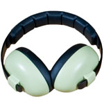 Banz 0-2 YRS Earmuffs - Leaf Green