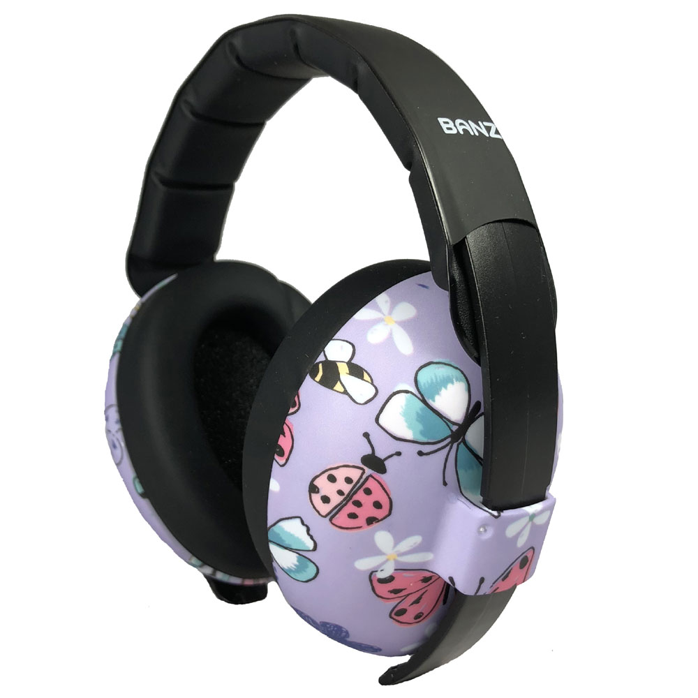 Banz 0-2 YRS Earmuffs - Butterfly