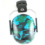 Kidz 2+ YRS Earmuffs - Blue Camo