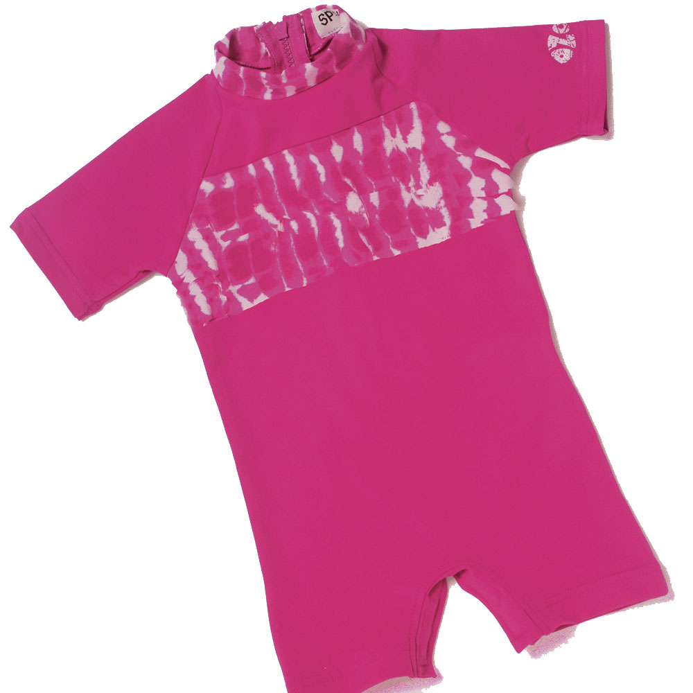 Sposh Sunsuit - Cerise Tie-Dye