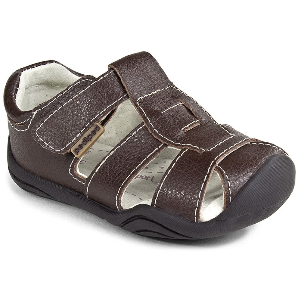 Pediped Sydney - Chocolate Brown<br><span style='color: rgb(230, 0, 0);'>CLEARANCE</span>