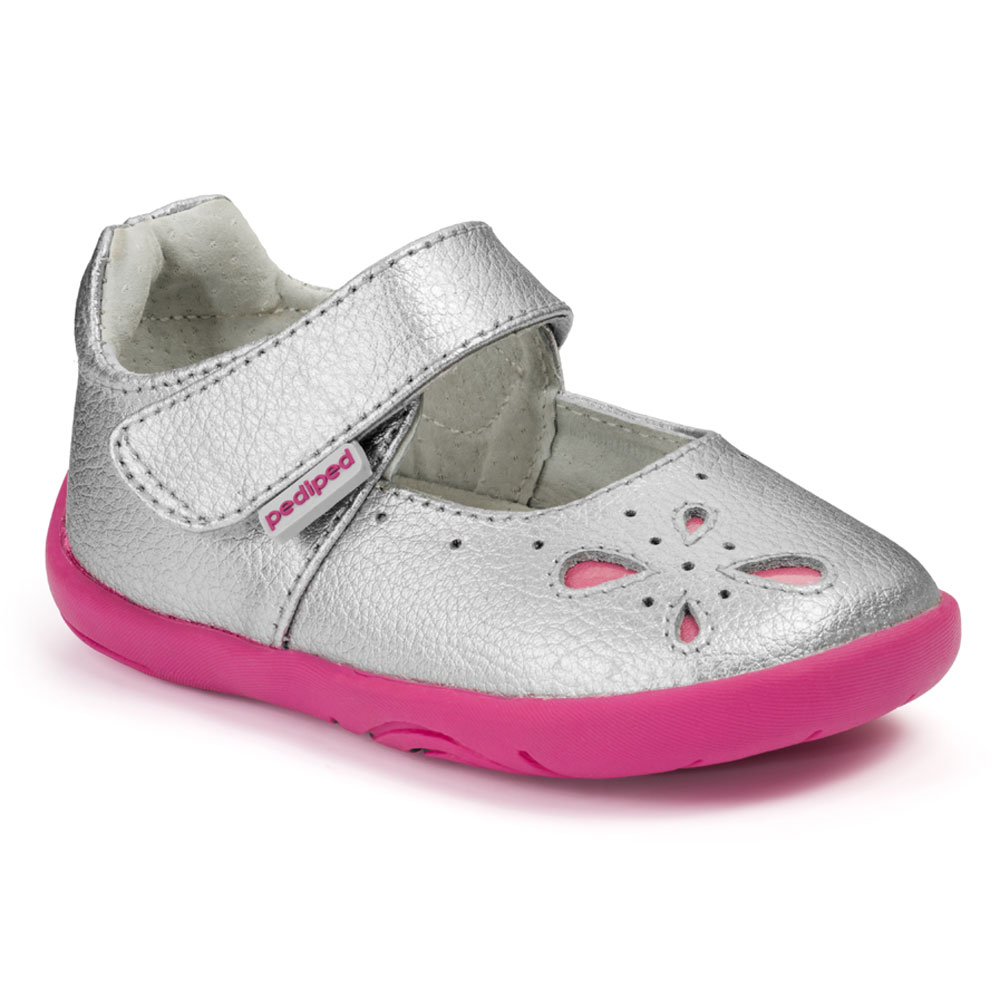 Pediped GG2366 Antoinette - Silver<br><span style='color: rgb(230, 0, 0);'>SALE</span>