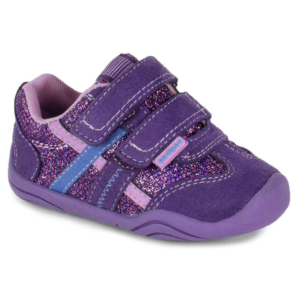 Pediped GG2367 Gehrig - Purple/Lily<br><span style='color: rgb(230, 0, 0);'>LAST PAIR - SIZE EU23</span>