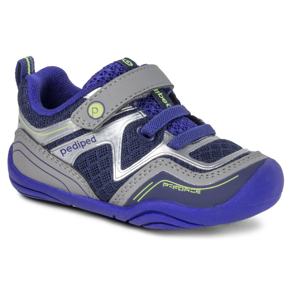 Pediped GG4080 Force - Navy/Silver<br><span style='color: rgb(230, 0, 0);'>CLEARANCE</span>