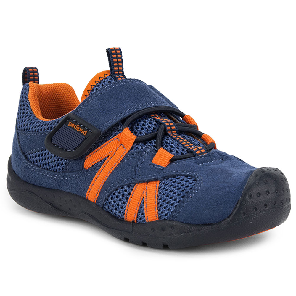 Pediped Renegade - Navy/Orange<br><span style='color: rgb(230, 0, 0);'>NEW</span>