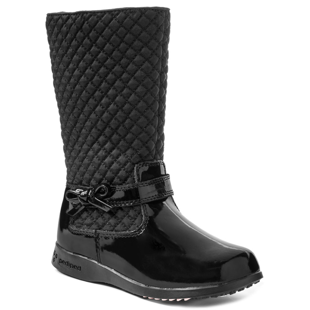 Pediped RS532 Naomi Boot - Black<br><span style='color: rgb(230, 0, 0);'>CLEARANCE</span>