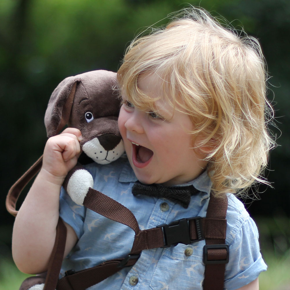 Toddler Backpack+Reins - Lupo the Puppy