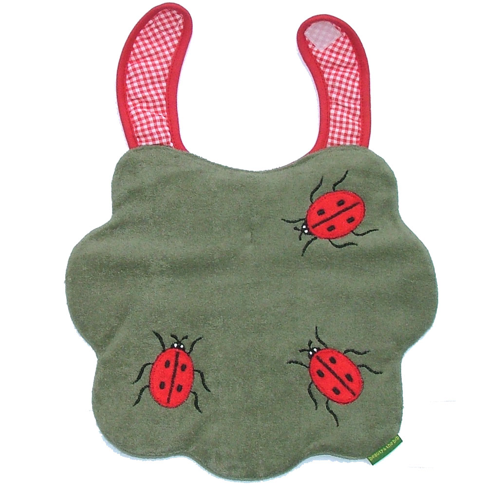 Flower / Ladybird Bib<br><span style='color: rgb(230, 0, 0);'>Buy Any 2+ Get 10% OFF</span>