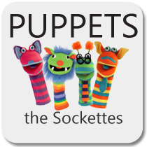 Puppets - The Sockettes Puppets