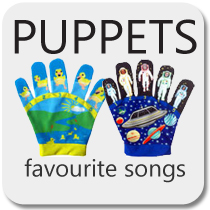 Puppets - Favourite Song Mitts
