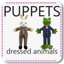 Dressed Animal Puppets