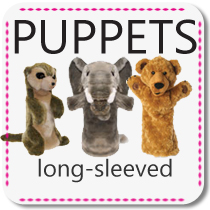 Long-Sleeved Puppets