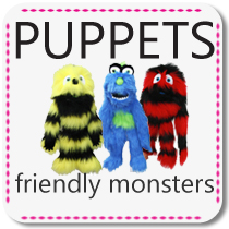 Friendly Monster Puppets