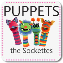 The Sockettes Puppets