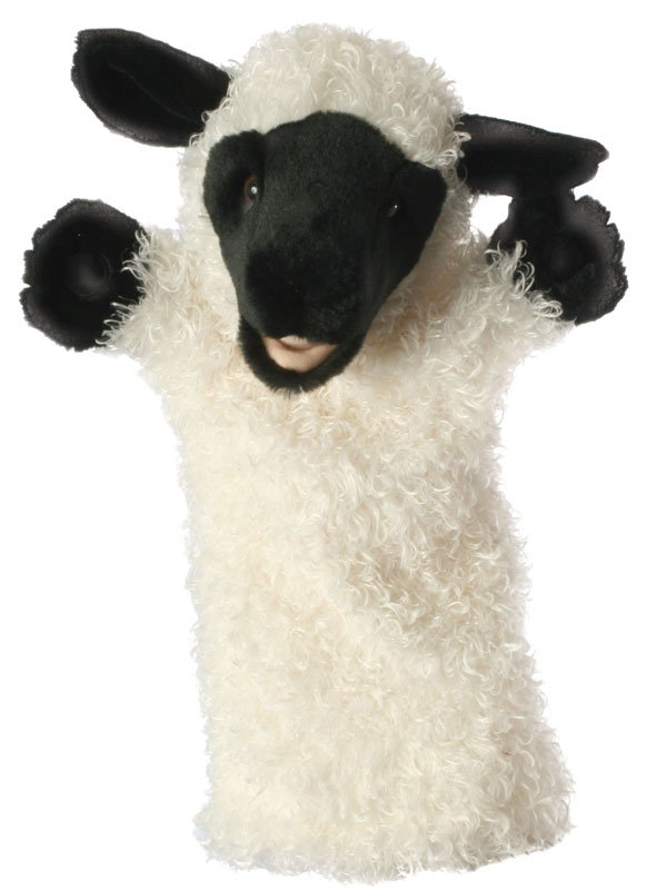 White Sheep Puppet