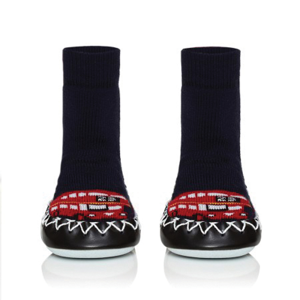 Moccis - London Bus Moccasins