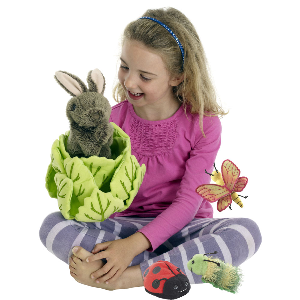 Rabbit in a Lettuce