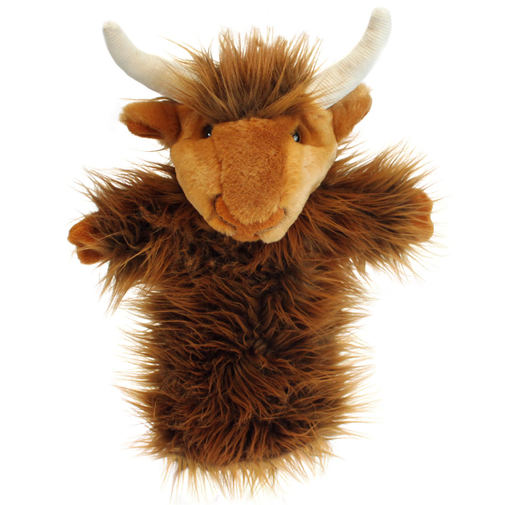 Highland Cow Puppet