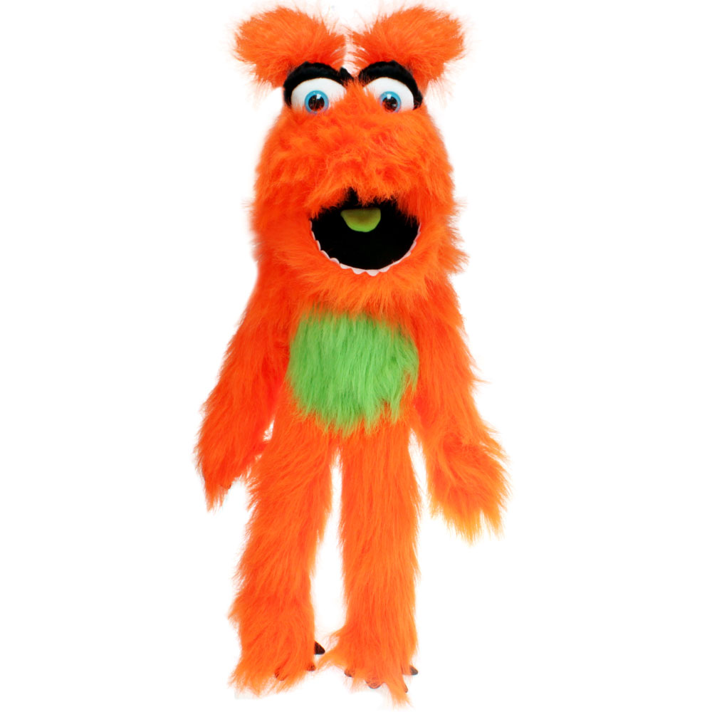 Orange Monster Puppet