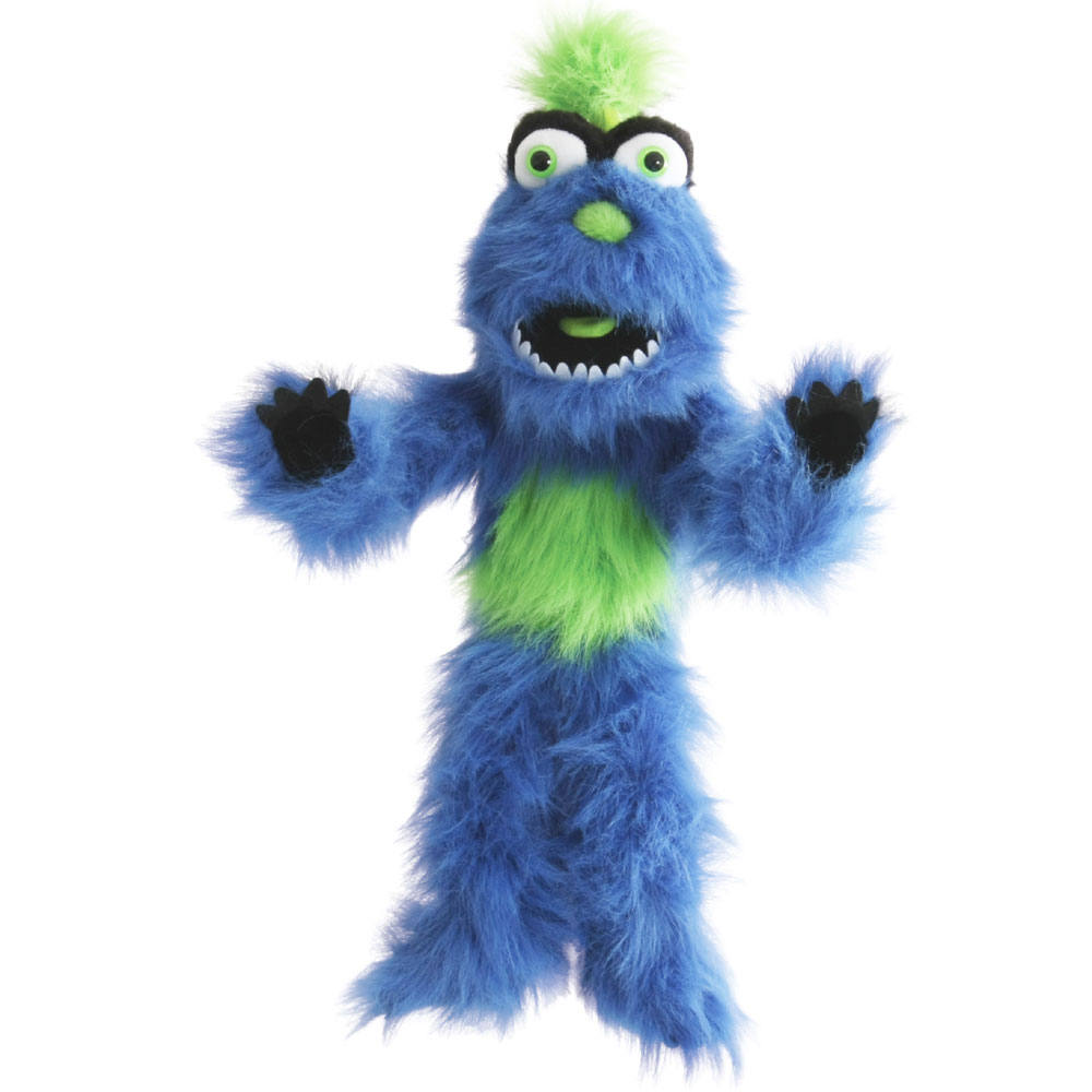 Blue Monster Puppet