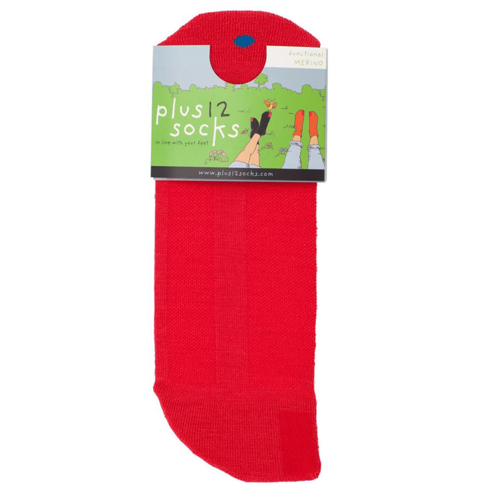 Plus 12 Socks - Adults - Red