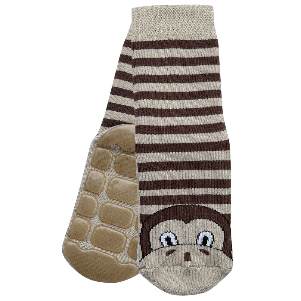 Marcel the Monkey Slipper Socks