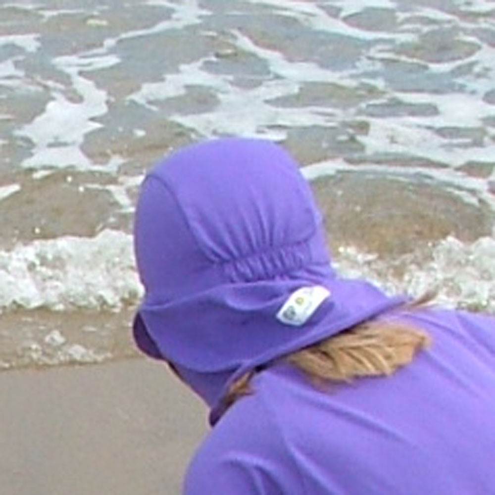 Sposh Legionnaire Cap - Purple