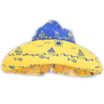 Sposh Sun Hat - Royal Blue/Boats