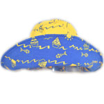 Sposh Sun Hat - Yellow/Boats