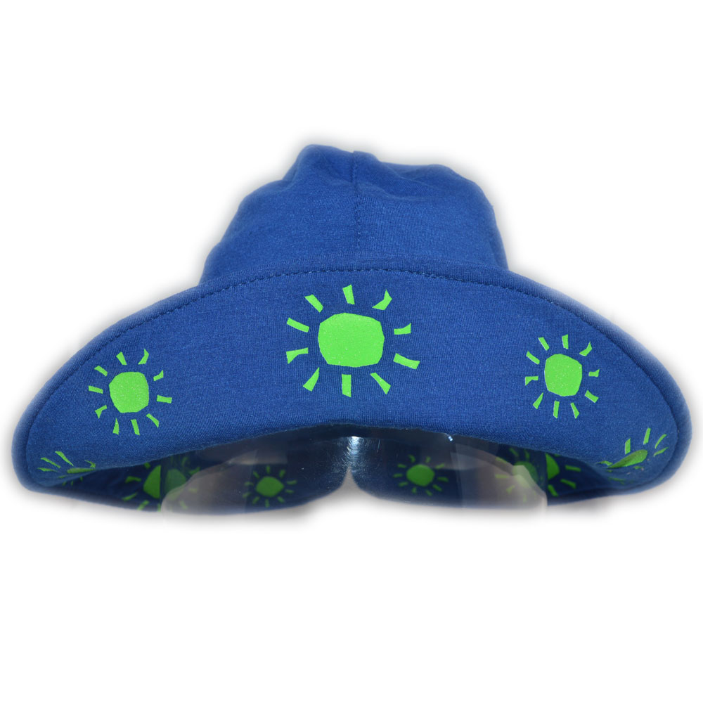 Sposh Sun Hat - Marine/Lime