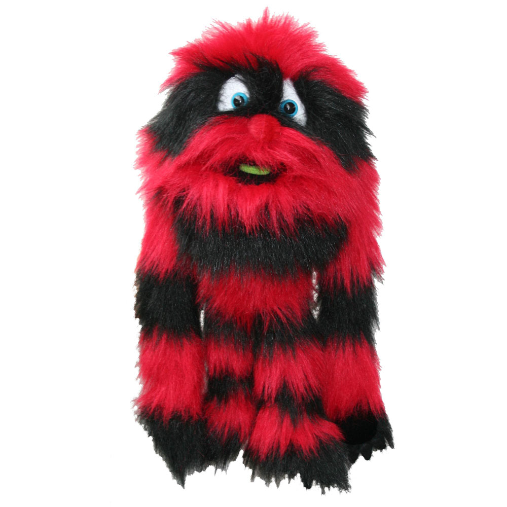 Red Monster Puppet