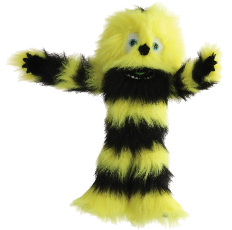 Yellow Monster Puppet