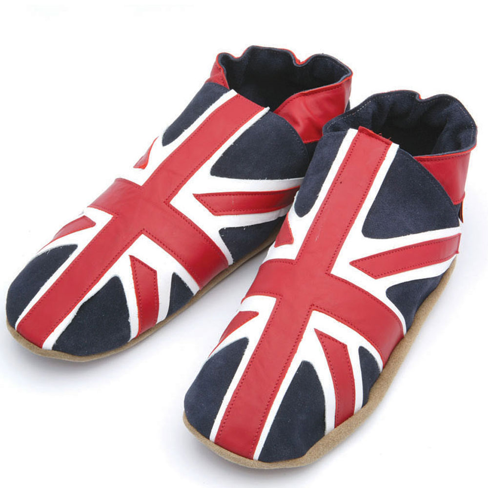 Triggerfish Slippers - Union Jack - Navy<br><span style='color: rgb(230, 0, 0);'>SALE</span>